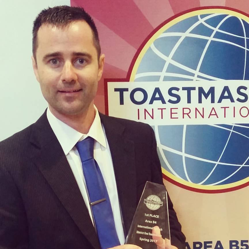 1st place, Toastmasters West L.A. 2017